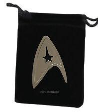 Star Trek Pin Badge Brooch Communicator into Darkness Starfleet Command SILVER