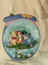 """Winnie the Pooh 3D Plate-Pooh's Hunnypot Adventures, """"It's Just A Small Piece."""