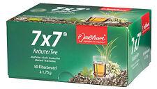 7x7 dimagrante 50 bustine filtro-Jentschura-in un box + campioni di prodotto