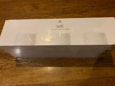 New Sealed Google Wifi 3 pack Ac1200 Dual-Band Mesh Wi-Fi Router White