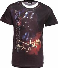 STAR WARS Youth 3D T-Shirt DARTH VADAR Design on Tee shirt Kids Age 7-8 Years