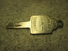 Amelia Earhart Luggage Key #2500 Vintage USA