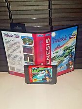 Twinkle Tale Game for Sega Genesis! Cart & Box!