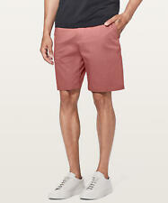 "Lululemon Men's Commission Short Slim 9"" SMRD Smoky Red"