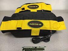 Moto-D Dual temp tire warmers  motor cycle tire warmer SET w/ neoprene sides