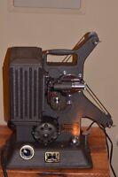 Vintage Keystone R-8 8MM Movie Projector INDUSTRIAL STEAMPUNK THEATER PROP DECOR