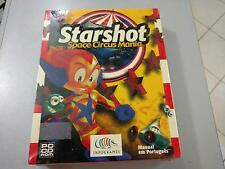 STARSHOT Space Circus Mania  Game PC (1999)Box - New Sealed