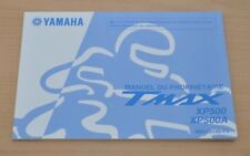 YAMAHA TMAX XP500 XP500A Manual du Proprietaire Bedienungsanleitung Motor 2010