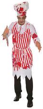 hombre sangriento Zombie Carnicero Disfraz & Gorro Nuevo Halloween