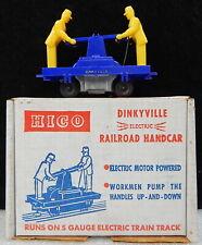 Vintage Dinkyville S Gauge Railroad Handcar Cart HICO Hetherington w box