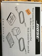 BOSE WAVE CONNECT KIT FOR iPOD NEW IN BOX 347759-0010 Free Shipping