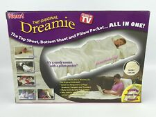 The Original Dreamie Blanket Wrap Around Soft Top Bottom Sheet /& Pillow Pocket