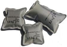 SOFTGewichte 0,5kg  1kg  2kg wie Softblei, Tauchblei Gewichte zum Tauchen silber