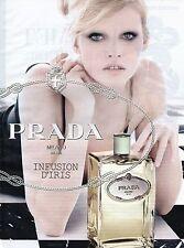 Publicité Advertising 2010 parfum PRADA milano infusion d'iris
