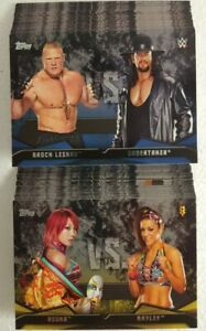 2016 Topps WWE Then Now Forever Wrestling Card Set RIVALRIES ( 40 ) NxT / WWE
