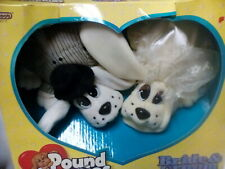 Vintage 1996 Galoob Pound Puppies Bride & Groom New In Box.