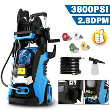 3800PSI 2.8GPM Electric Pressure Washer Water Cleaner High Power Sprayer Kit