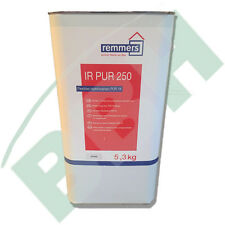 (28 /kg) 5 3 Kg Remmers IR pur 250 Flexibles Injektionsharz Rissverpressung