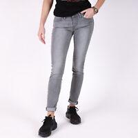 Levi's 711 Skinny Grau Damen Jeans DE 34 / US W26 L32