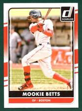 2016 Donruss baseball Mookie Betts Panini Donruss # 118 Boston Red Sox