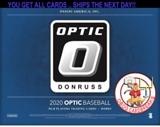 New listing ATLANTA BRAVES   DONRUSS OPTIC BASEBALL 1/3 (4 BOXES) CASE BREAK #20
