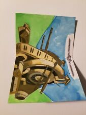 Star Wars Artist Proof Sketch Card War Machinery 1 of 1!