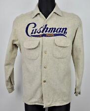 LEE TREVOR Cushman Wool American Men's Shirt XS S Button Flannel Lumberjack vtg
