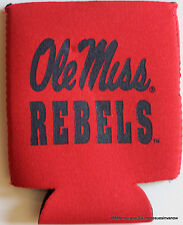 University Mississippi Ole Miss Rebels Can Coolie College Koozie Dorm Party Ncaa