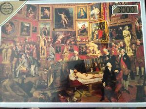 Falcon De-luxe Majestic 3000 Piece Jigsaw Puzzle #3255 The Tribuna of the Uffizi