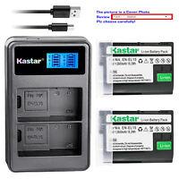 Kastar EN-EL15 for Nikon 1 V1, D500 D600 D610 D750 D800 D7000 D7100 D800 D800E