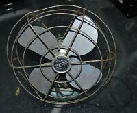 vintage ZERO fan model #1265R by Bersted MFG Co. Ontario Canada