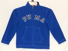 "PUMA Kids Boys Blue ""Spell Out"" Full Zip Warm Athletic Fleece Jacket Size 5"