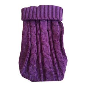 Pet Dog Warm Jumper Knit Sweater Clothes Puppy Cat Knitwear Costume Coat Apparel