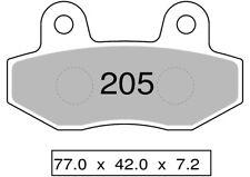 Couple plaquettes de frein arrière organique HYOSUNG 700 I DELUXE 2013  TROFEO