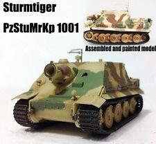 WW2 German Sturmtiger Assault Tiger Tank PzStuMrKp 1001 1:72 Easy Model