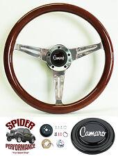 "1969-1992 Camaro steering wheel 14 1/2"" MAHOGANY steering wheel"