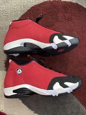 Jordan 14 toro gym red