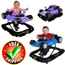 Baby Activity Walker Batman Gym Adjustable Wheel Sound Boy Girl Toddler