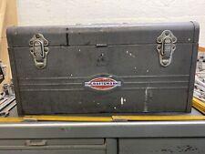"Vintage Craftsman 18"" Hand Carry Tool Box! Heritage Badge 1950's! Decent Shape!"