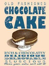 Chocolate Cake fridge magnet   (og)
