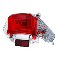 Motorcycle Rear Brake Tail Light Lamp Red Stop Light for 50cc Gy6 Scooters
