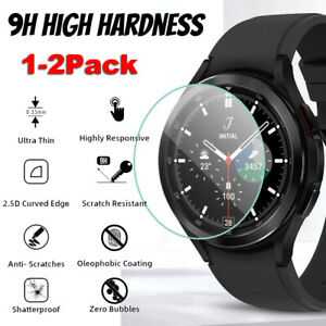 Tempered Glass Screen Protector for Samsung Galaxy Watch 4 Classic 40/44/42/46