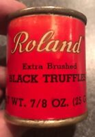 Roland Extra Brushed 1950s Truffles Tin Can Sealed NOS unopened Full