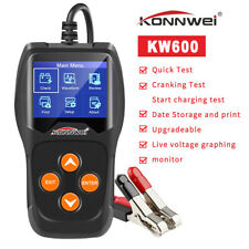 KONNWEI KW600 SUV Battery Tester Analyzer Cranking Charging System for 12V Cars