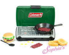 """Green Coleman® Camping Camp Stove Set Fit 18"""" Dolls"""