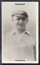 PHILLIPS-CRICKET ERS BROWN BACK F192-#182c- YORKSHIRE - ROBINSON