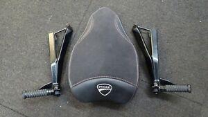 Ducati 848 1098 1198   2011 Rear seat and both Rear hangers    10-21