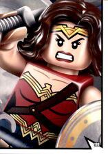 LEGO BATMAN MOVIE cartes nº 198-Puzzle Justice League 9//9