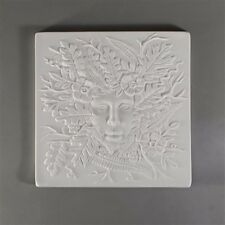 GX19 Small 7x7  Lady in the WoodsTexture Mold for Glass Fusing and Slumping