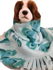 Butterfly Ribon,March Of Dimes Fuzee Fleece Dog Blankets,Soft Pet Blanket Throw